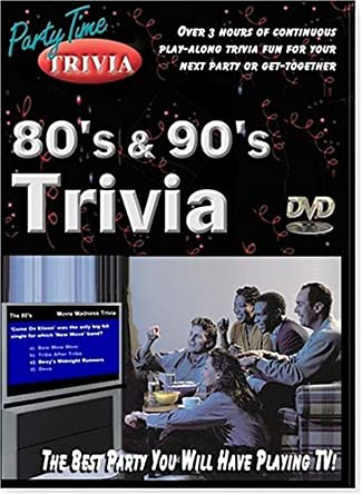 Amazon com: The 80's and The 90's Party Time Trivia DVD Game
