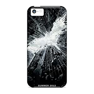 Apple Iphone 5c Yep6579JVYB Unique Design Beautiful The Dark Knight Rises Series Scratch Protection Cell-phone Hard Cover -LauraFuchs
