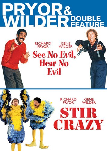 Pryor & Wilder Double Feature (See No Evil, Hear No Evil, Stir Crazy) (Richard Pryor See No Evil Hear No Evil)
