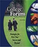 College Forum : Strategies for First Year Success and Beyond, Wysocki, Todd, 0757520936