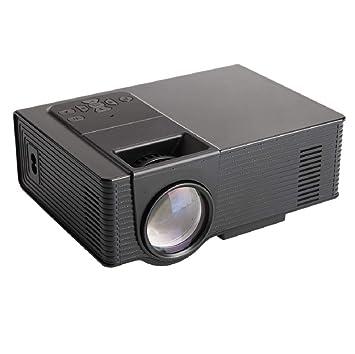 WSJ Proyector casero de HD LED, Ayuda 1080P, teléfono móvil ...