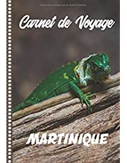 Carnet de Voyage Martinique: Guide à Remplir de vos Histoires et Anecdotes pour un Séjour à la Carte, 108 pages ILLUSTREES, Cadeau à Offrir Fabriqué en France.