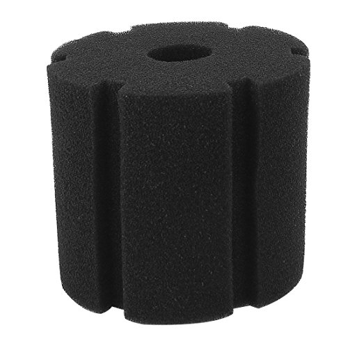 uxcell Aquarium Filter Biochemical Sponge Foam Replacement Black (Replacement Filter Sponge)