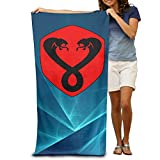 ^GinaR^ 300g Two Headed Snake Funny Microfibre Towel