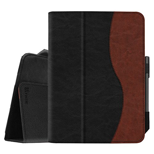 (Fintie Folio Case for Samsung Galaxy Tab S3 9.7, [Corner Protection] Premium PU Leather Stand Cover with S Pen Protective Holder Auto Sleep/Wake for Tab S3 9.7 (SM-T820/T825/T827), Dual Color)