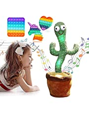 Dancing Cactus Repeats What You Say,Sing+Repeat+Dance+Recording,Singing Cactus Recording and Repeat Your Words for Education,Singing Cactus for Toddler, Baby, Kids