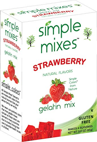 Simple Mixes Natural Strawberry Gelatin product image