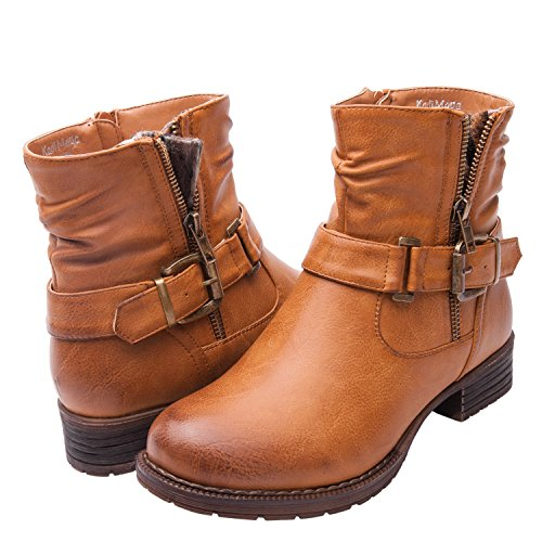 Global Win Frauen KadiMaya16YY05 Stiefel Kamel