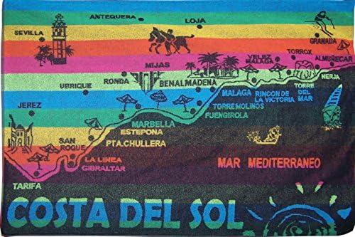 UNIVERSFUN-Toalla de playa, diseño de bandera de España Marbella ...