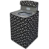 Stylista Washing Machine Cover for BPL 6.2 kg BFATL62K1 Fully-Automatic Top Load Floral Printed Pattern