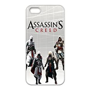 Assassin's Creed iPhone 4 4s Cell Phone Case White Protect your phone BVS_710033