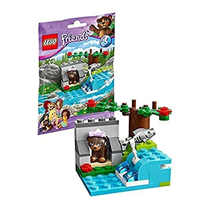 LEGO Friends Brown Bear's River 41046: Toys & Games