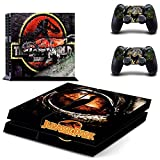 Jurassic park ps4 skin decal for console and 2 controllers