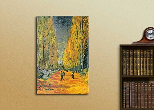 The Allee of Alyscamps (Les Alyscamps 1888) by Vincent Van Gogh Print Famous Painting Reproduction