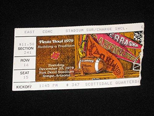 FIESTA BOWL Ticket - PITTSBURGH ARIZONA - 1979