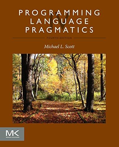 - Programming Language Pragmatics
