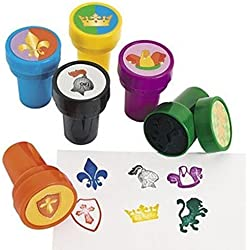 FX 24 - MEDIEVIL STAMPERS - knight party favors