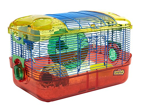 Kaytee Critter Trail Starter Habitat Complete Kit (Best Cage For Teddy Bear Hamster)