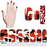 1-Pc Exceptional Popular Hot Nails Art Stickers Non-Toxic Manicure Polish Tools Sunproof Foils Model Style QJ#04