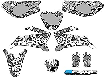 2008-2019 TTR 110 Zany Blue Complete kit Senge Graphics Compatible with Yamaha