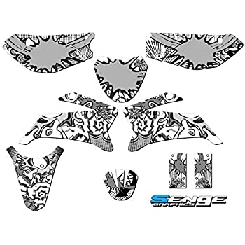 LeLeShop TM Aluminum Motocross Wide Fat Foot Pegs Footrest for Honda CR CRF XR 50 70 80 100
