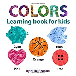Colors learning book for kids: Early Learning Picture Book ...
