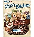 Milo's Kitchen Steak Grillers Home-Style Dog Treats with Angus Steak, 30 oz