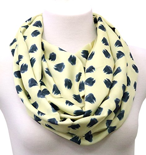 Handmade Dental Scarf Gift idea for her for dentists birthday gift infinity scarf Yellow