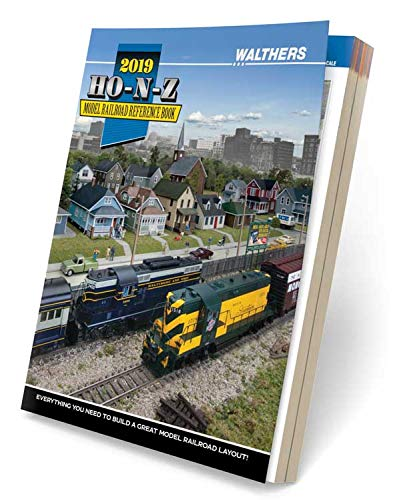 2019 HO-N-Z Model Railroad Reference Book from Walthers