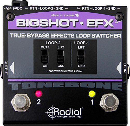 Radial BigShot EFX Effects Loop Switcher by Radial