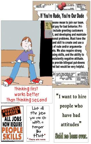 Poster #S8 Self-Control, Behavior Management Poster Set f...