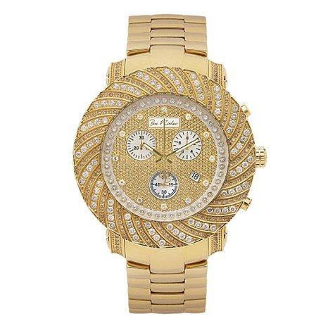 Joe Rodeo Diamond Men's Watch - JUNIOR gold 4.25 ctw