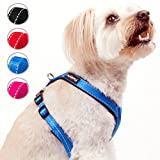 FluffyPal No Pull Harness For Dogs, Take Control & Walk Happier! Comfort Dog Harness For Less Restriction & More Freedom! No Chocking, Wiggling Or Slipping Out, Secure Tight Fitting Adjustable Harness