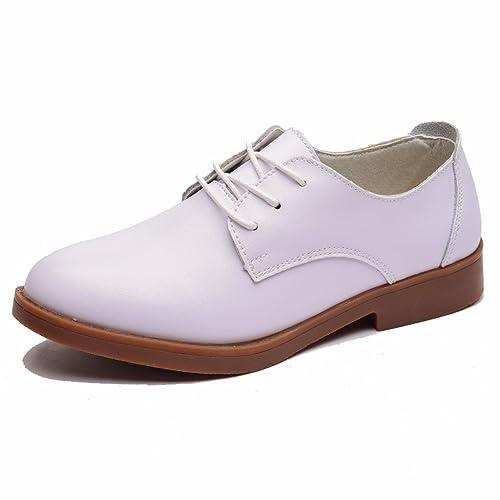 Moonwalker Zapatillas para Hombre en Cuero ( EUR 36,Blanco)