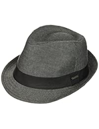 618e6175a6c Van Heusen Mens Chambray Men s Fedora Hat with Grosgrain Headband Fedora