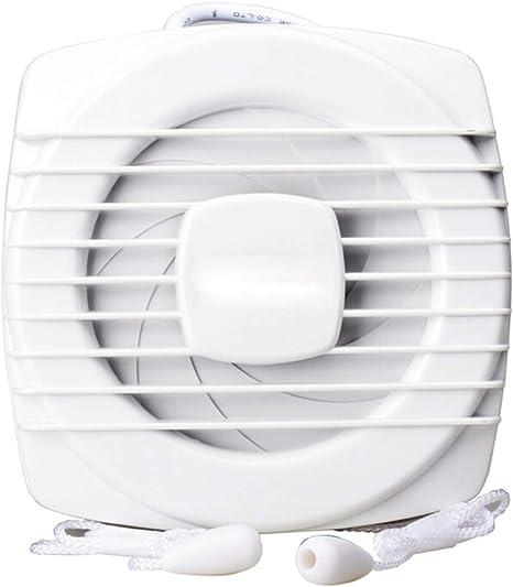 Ventilación Extractor Ventilador Ventilador Silencioso Baño Escape Potente Cable Interruptor Ventilación 110MM: Amazon.es: Hogar