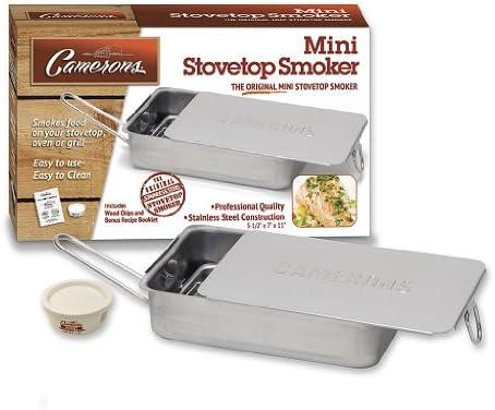 Amazon.com: Stovetop - Estufa-ahumador - Fumador de acero ...