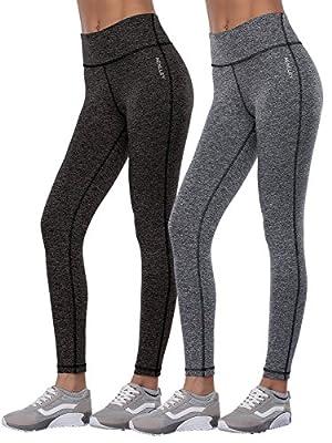 Aenlley Women's Activewear Yoga Pants High Rise Slim Fit tights Leggings Capris