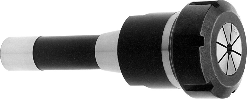 Centaur MSOR840 RD 40 Collet Chuck with E Nut, R8 Taper Shank, 7/16-20 Retention knob Threading, R8 ER40