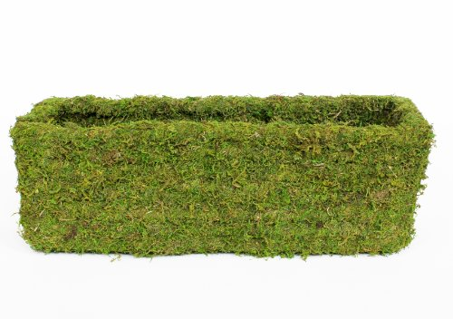SuperMoss (29355) MossWeave Window Box Planter, Fresh Green,