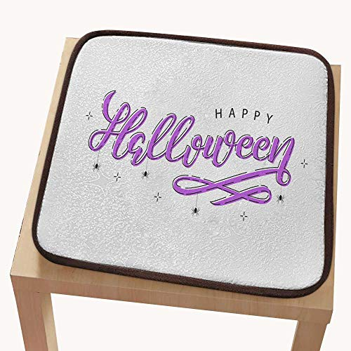 (Chair padchair pad seat cushionVector Realistic Isolated Typography for Halloween and Spiders with Thin line Art Design for Decoration and co)