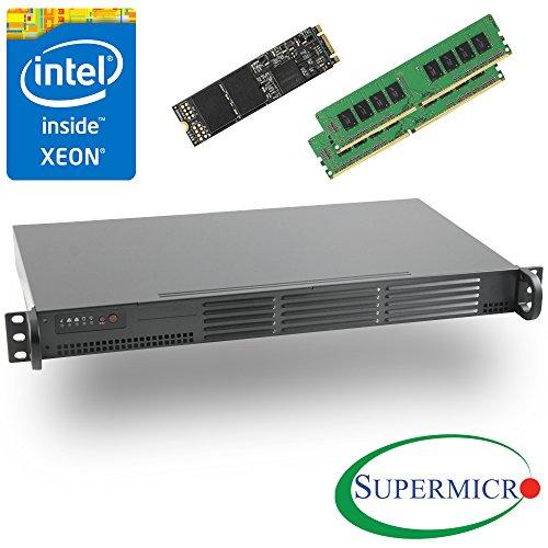Supermicro Intel Xeon D-1541 8-Core 1U Rackmount 2 x 10GbE, 32GB ECC & 512GB SSD by MITXPC