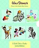 Walt Disney's 6 Little Golden Books: Bambi/Dumbo/Mother Goose/Pinocchio/Scamp/Three Little Pigs