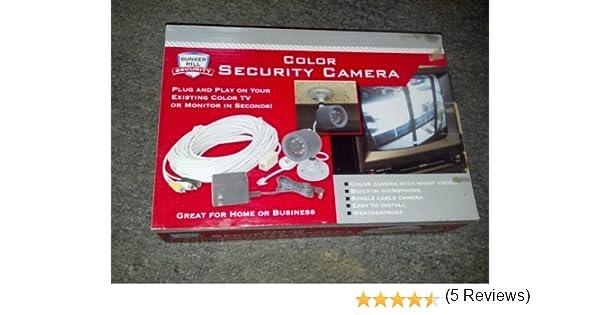 amazon com weatherproof color security camera night vision amazon com weatherproof color security camera night vision bullet cameras camera photo