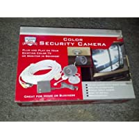 Weatherproof Color Security Camera with Night Vision