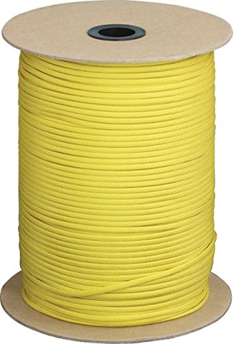 Parachute Cord Yellow.
