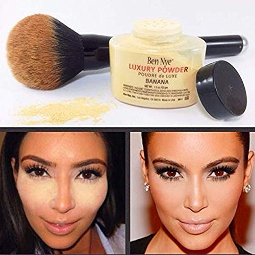 Banana Powder,Makeup Powder For Fashion Women (yellow)