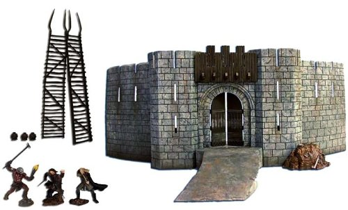 - Lord Of The Rings Deluxe Environment Playset: Battle at Helm's Deep 1/24 Scale