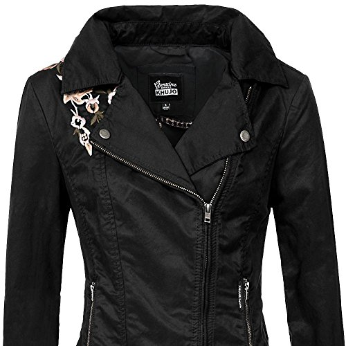 Jacket Khujo Nero Giacca Solida Donna 5wTxUFAq