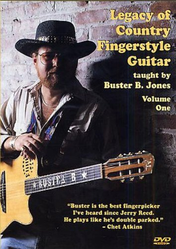 Buster Jones - Legacy of Country Fingerstyle Guitar 1 (DVD)